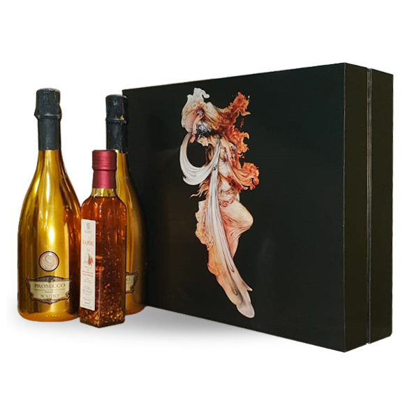 PROSECCO GOLD GIFT SET